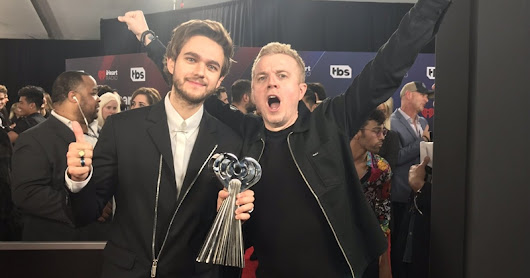 Zedd vence a categoria 'Dance Song of The Year' do iHeartRadio Music Awards