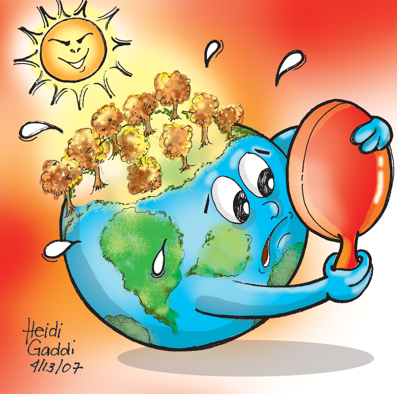on global warming write a essay on global warming 150 words