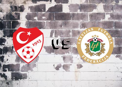 Turquía vs Letonia  Resumen
