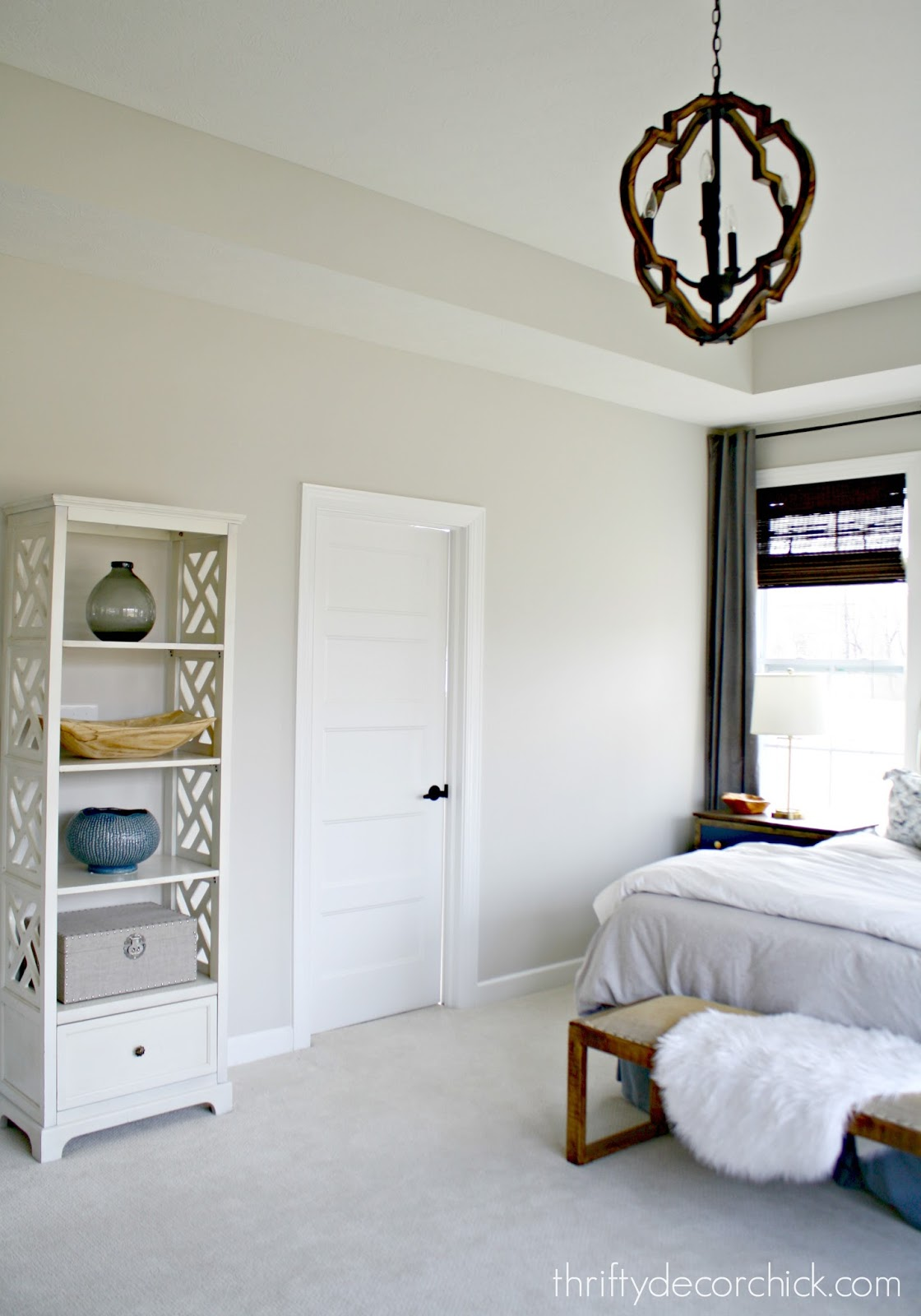 Five paneled white doors