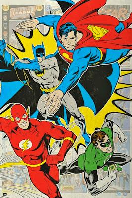 Comic, superhero comic, Justice League Of America
