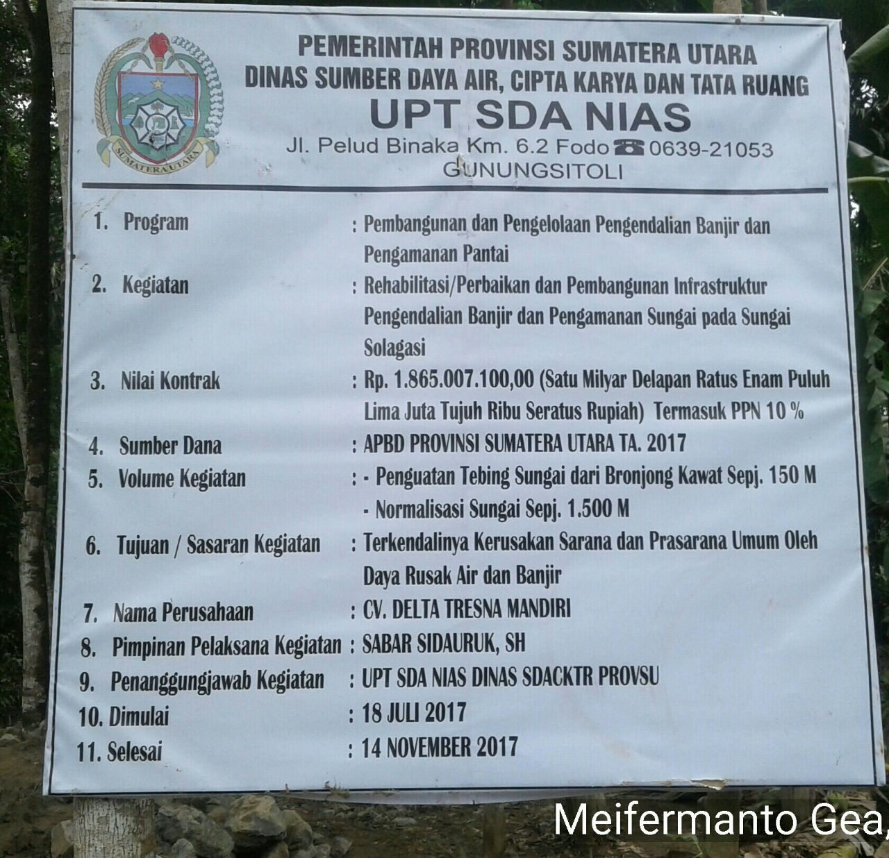 Rehabilitasi Sungai Solagasi Nias Utara Terindikasi Sarat Korupsi Tcash Vaganza 39 Bantal Mobil 3 In 1 Mini Mouse Aksesoris Puterariaucom