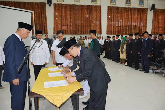 Mutasi di Pemko Padang, Banyak Pejabat Bertukar Tempat