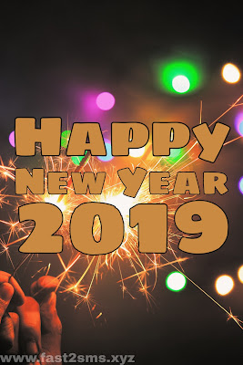 Happy New Year 2019 Image HD Download by Fast2SMS