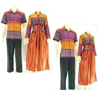 batik-pasangan-juwita-gamis-muslim-orange
