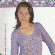 Saco Morado a Crochet o Ganchillo