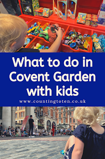 What to do in Covent Garden with kids