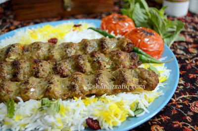 Joojeh Kabab ~ Persian Kabab ~ Kabab Koobeideh