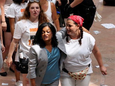 Read more about Pramila Jayapal arrested for protesting against Trump's border policy; vows to hold nationwide protests on Business