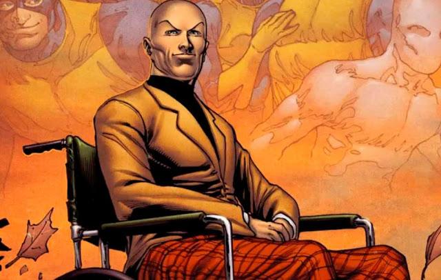 Super Herói com Deficiência - Professor X