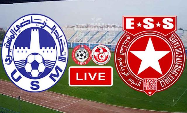 Match US Monastir vs Etoile du Sahel Live Stream