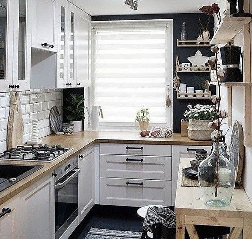 Minimalist Small Kitchen