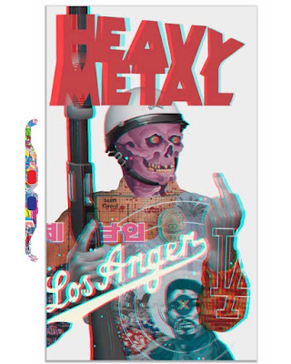 Heavy Metal 3D Fine Art Print by Tristan Eaton