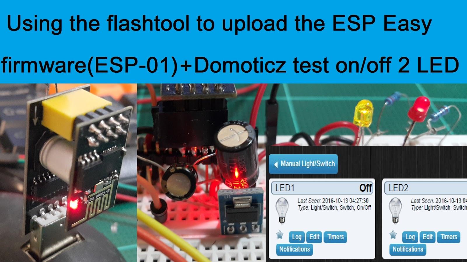 how to add esp8266 gateway to domoticz