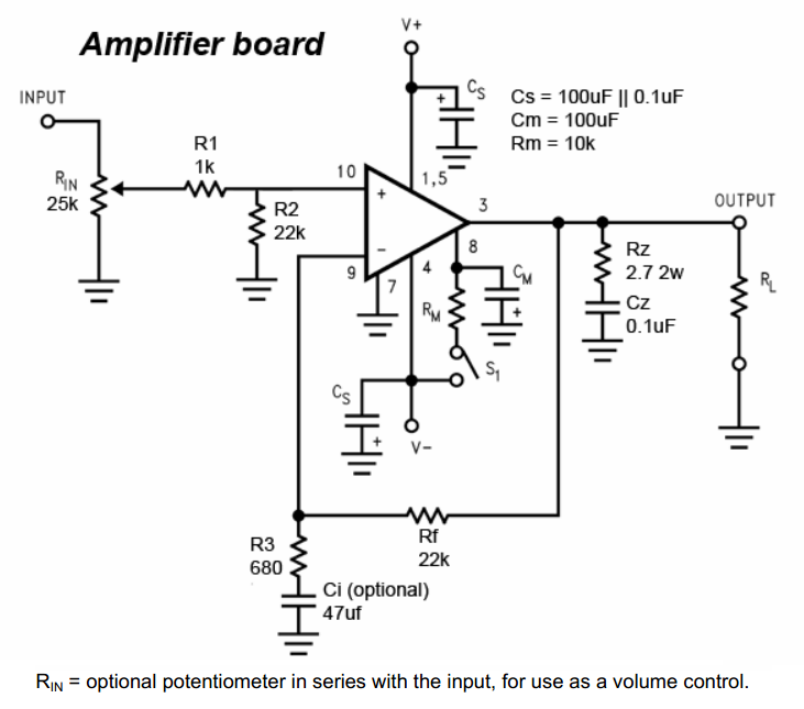 audio amplifier chip
