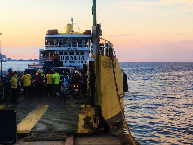 Jomalia Shipping barge/vessel for Olango Island