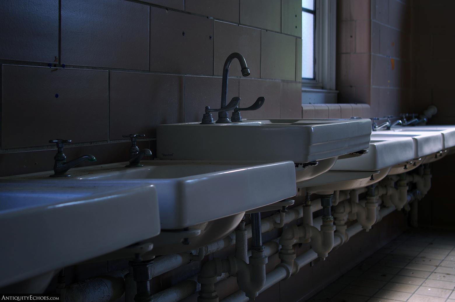 Allentown State Hospital - Patient Washroom