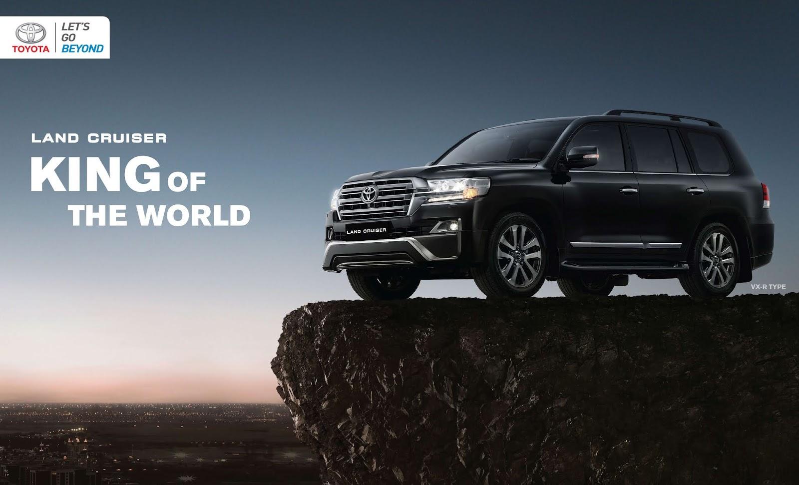 Desain mengalir yang begitu menawan dengan sentuhan elegan dan. Land Cruiser - Info Promo & Harga Toyota Land Cruiser Bali 2021