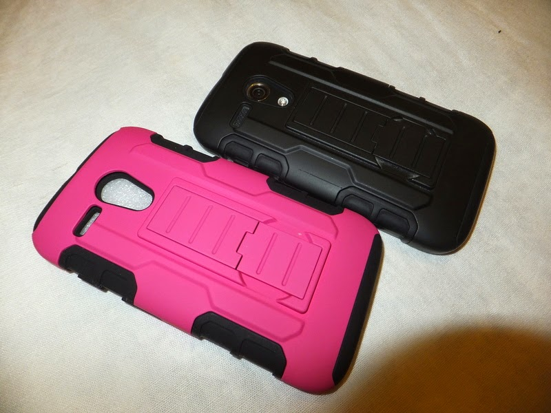 XT1039 XT1032 armored case pink girly asmyna