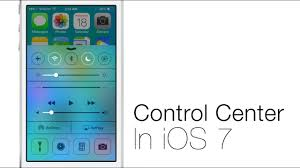 iControl Center iOS 7
