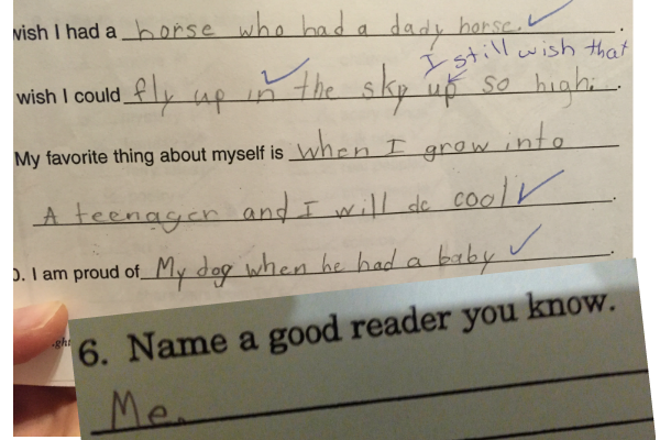 A Confident Child's School Answers