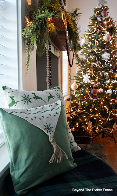 Stencil Custom Christmas Pillow Covers