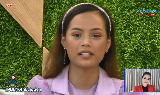 Ella Cayabyab evicted from PBB Connect