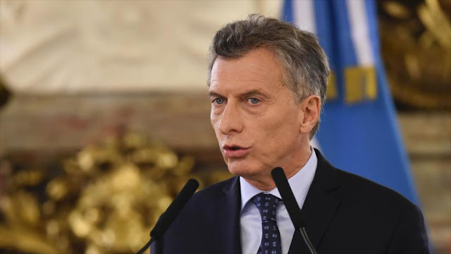 El presidente argentino Macri, imputado por la política cambiaria