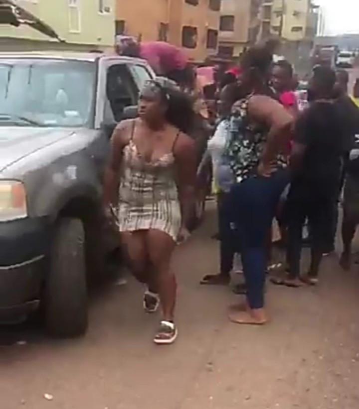 BBNaija's Cee-c Left In Shock After Car Crash (Video) #Arewapublisize