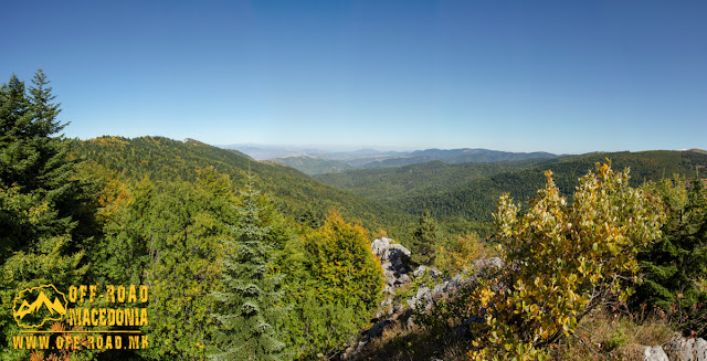 View from Sokol area, Nidze Mountain