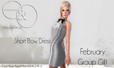 Bow Dress  Group Gift by Epicou & Oricay