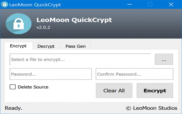 Hướng dẫn cách mã hóa và giải mã tệp và thư mục trên Windows 10 bằng LeoMoon QuickCrypt