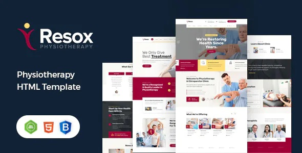 Best Physiotherapy HTML Template