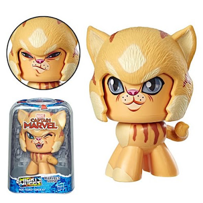 San Diego Comic-Con 2019 Exclusive Captain Marvel Mighty Muggs Mini Figures by Hasbro