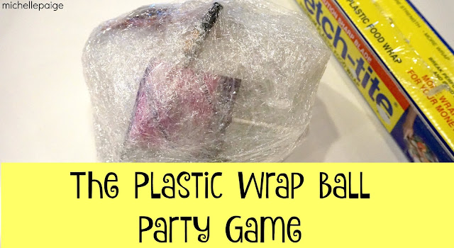 Plastic Wrap Party Ball Game