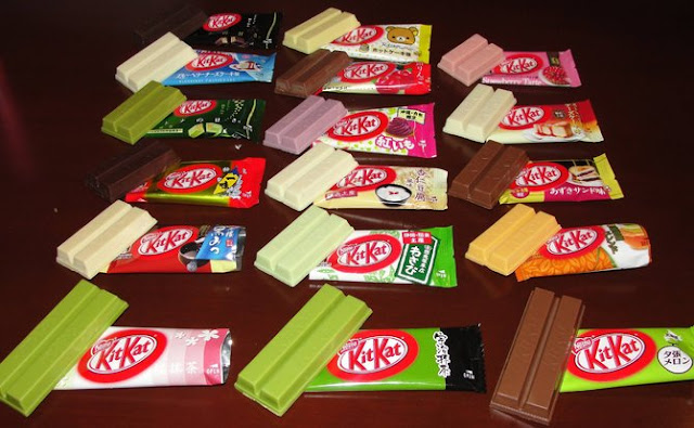 Alasan Kenapa Jepang Bisa Sampai Punya  300 Rasa Kitkat
