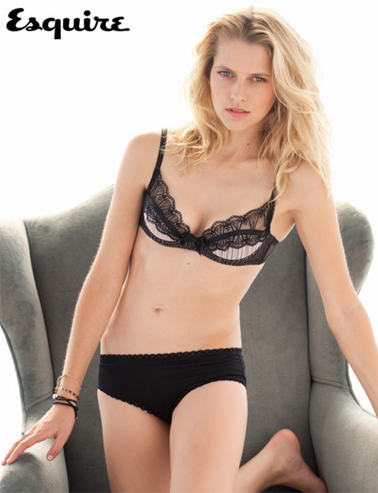 Teresa Palmer Sexy Lingerie On Esquire Magazine March 2011 -8762