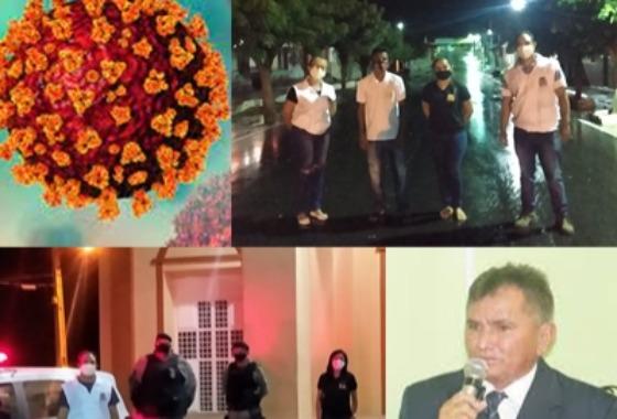 Prefeito Rogério Campos emite decreto rígido com medidas e restrições para combater a disseminação do Covid-19