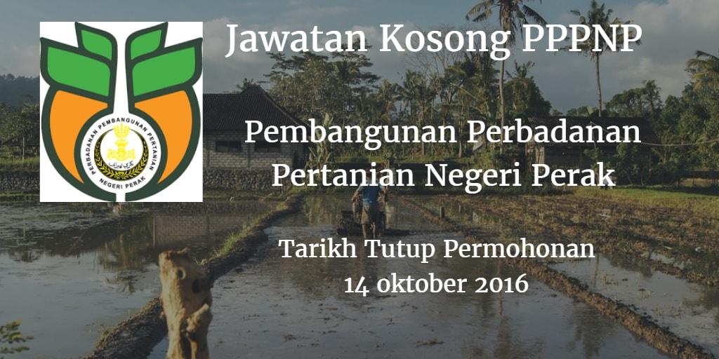 Jawatan Kosong PPPNP 14 Oktober 2016