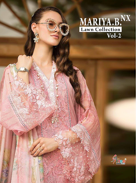 Shree fab mariya b lawn vol 2 Nx Pakistani Suits wholesale