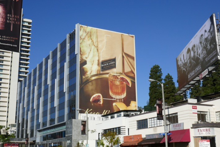Johnnie Walker Black Label 2019 billboard
