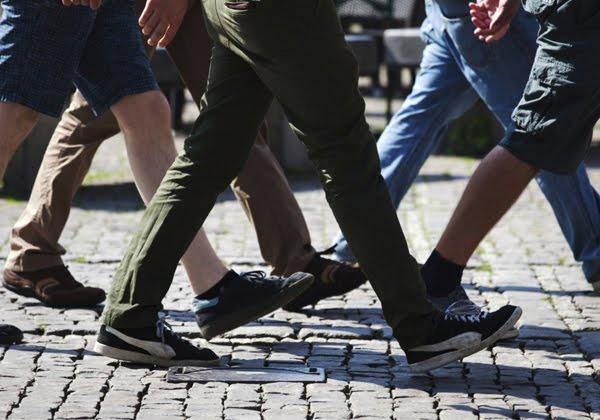 Λιγότερο περπάτημα από κάθε άλλον Ευρωπαίο κάνουν οι Έλληνες