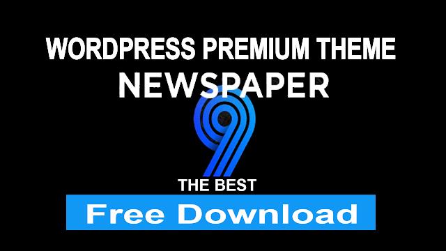 Wordpress Newspaper Theme Premium Version 2020 Lifetime Activated Free Download