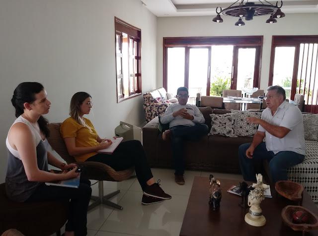 Resultado de imagem para Equipe da SETUR faz visita ao município de Felipe Guerra para conhecer potencialidades