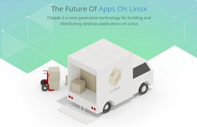 cara install aplikasi linux flatpak, appimage, snap