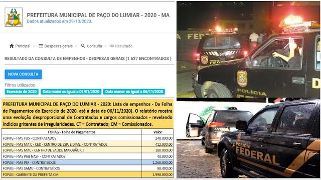 """BOMBA!! Esquema """"tudo ou nada"""" com recursos públicos pode levar à prisão gestores de município da Região Metropolitana antes das eleições"""