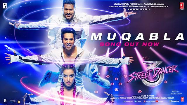 मुकाबला Muqabla Lyrics in Hindi - Street Dancer 3D