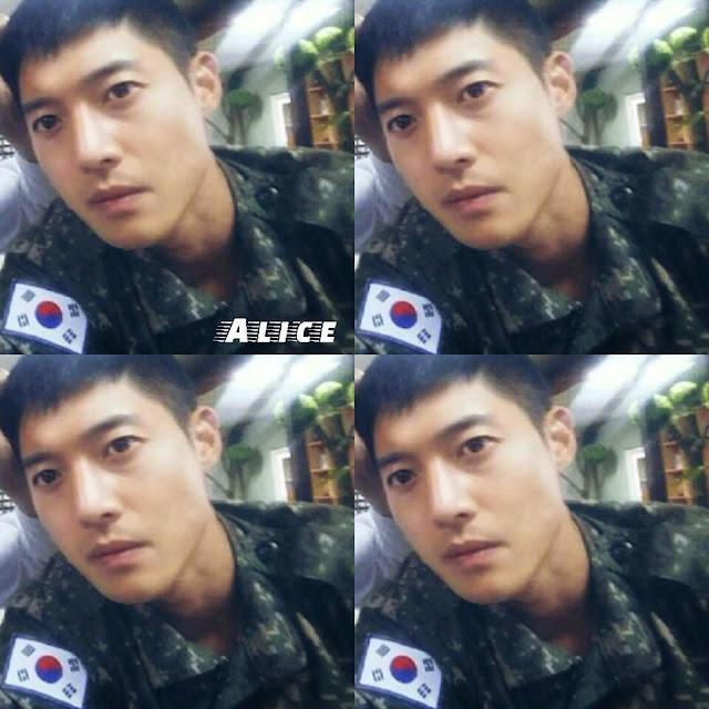 هيون جونغ في الجيش صورة