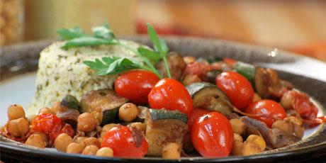 Speedy Moroccan Zucchini Recipe