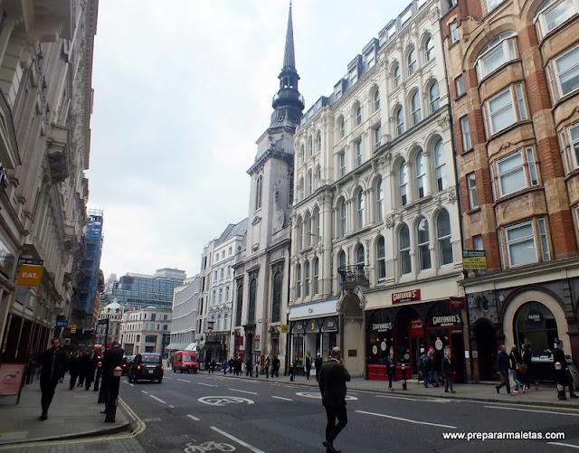 qué ver y hacer en la City de Londres